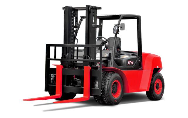Grand chariot élévateur avec pneus à bandage creux HANGCHA / 11000 lb à 15500lb