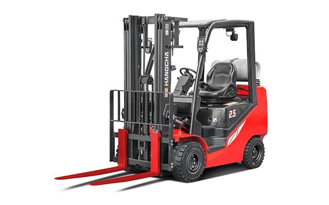 Chariot élévateur compact à moteur à combustion interne avec pneus à bandage creux HANGCHA / 5000lb