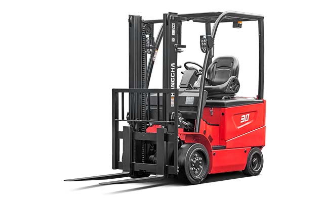 Electric Cushion Forklift / 3,000-6,500lbs